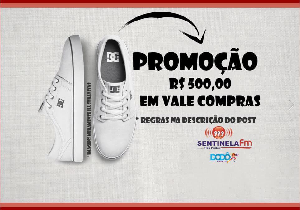 Bora curtir o novo instagram da Sentinela FM e ainda faturar R$500,00 em vale compras no DODO esportes?