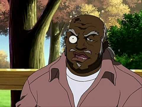 Tio Ruckus, um negro que tem preconceito de negro