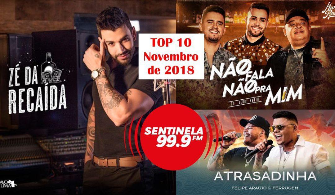 Top 10 de 11/2018 para ouvir musicas online grátis